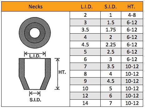 Riser Sleeves Necks
