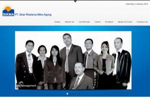 Website ptsikma.com 2013