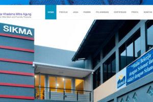 Pembaruan Website PTSIKMA.COM September 2016