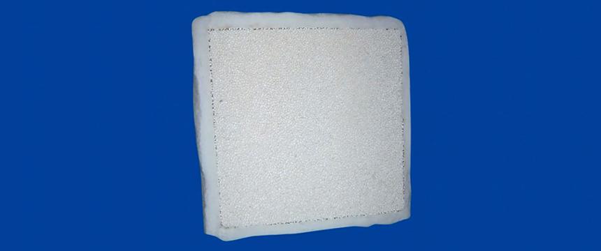 Slider - Square Type Ceramic Foam Filter